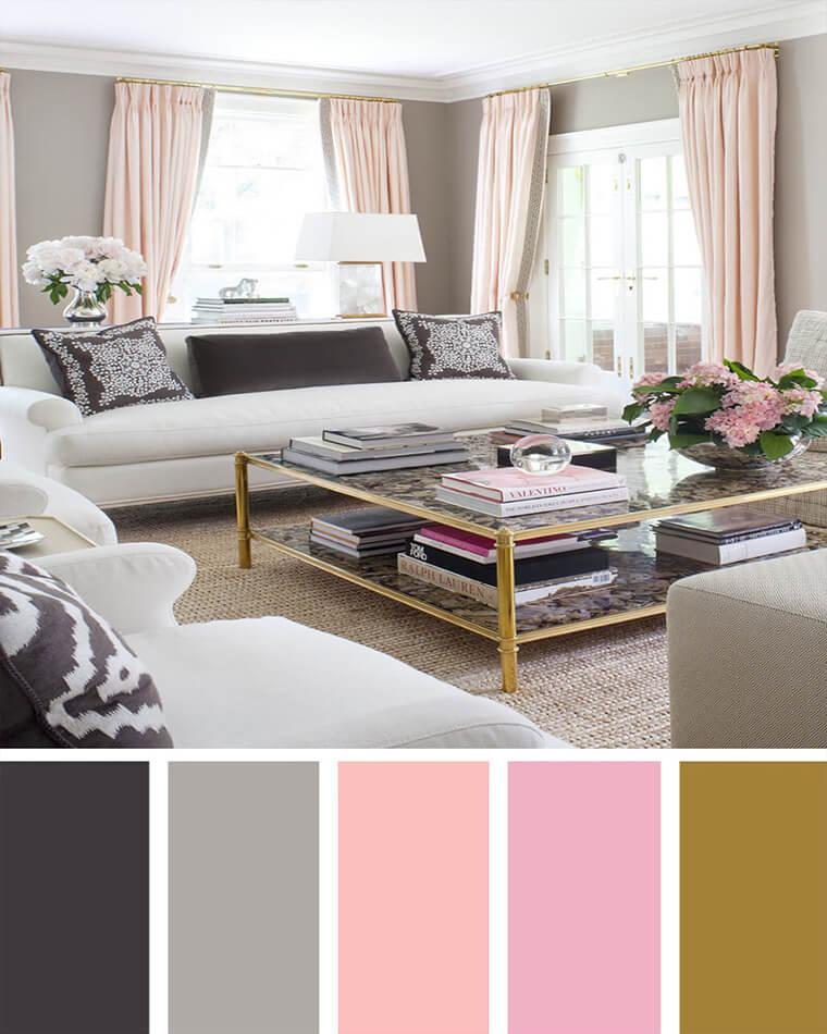 Khám phá 7 cách phối màu độc đáo cho phòng khách