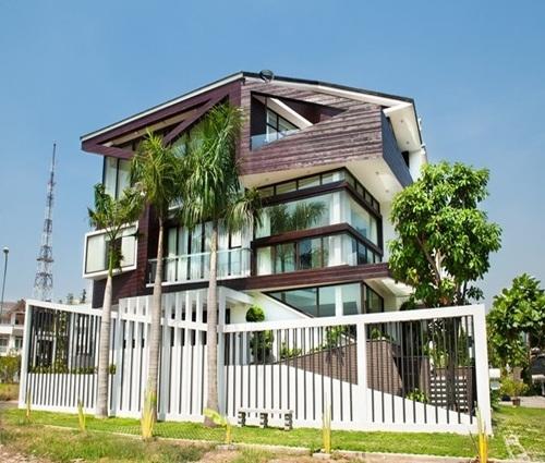 Khám phá căn biệt thự Sài Gòn gây ấn tượng vì sự phá cách