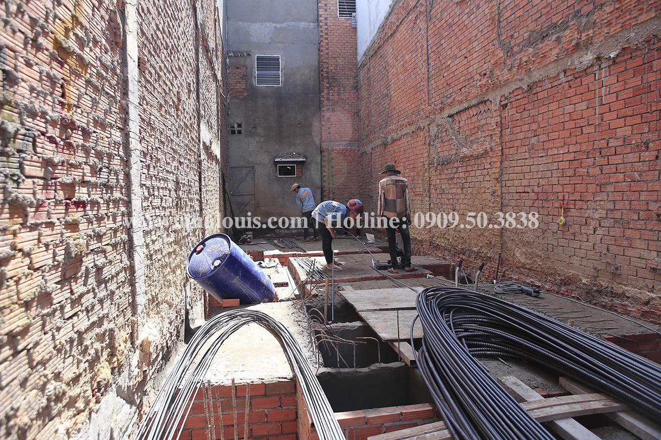 Khí thế tưng bừng ngày đầu khởi công công trình nhà quận Tân Phú