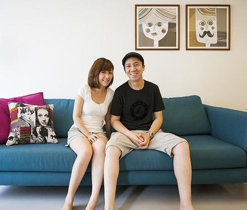 Không gian sống đẹp hiện đại của đôi vợ chồng trẻ