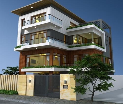 Không gian sống hiện đại trong căn biệt thự ngoại thành Hà Nội