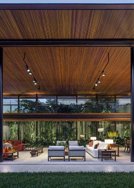 Không gian xanh trong căn biệt thự nhà vườn