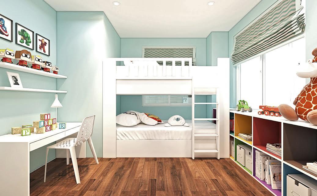 Lạc trôi với 11 mẫu phòng ngủ cực đẹp cho bé