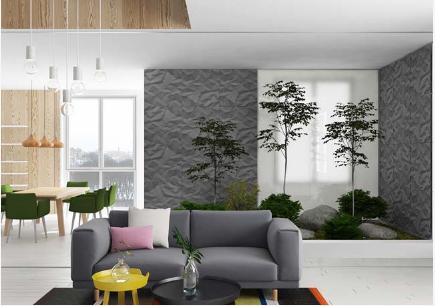 Lạc vào thế giới rừng xanh trong mẫu ngôi nhà phố 2 tầng - 02