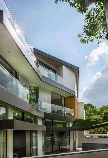 Mẫu biệt thự đẹp với thiết kế phủ xanh cực độc