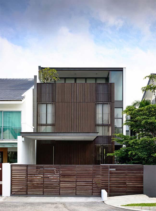 Mẫu nhà gỗ đẹp giữa lòng Hà Nội