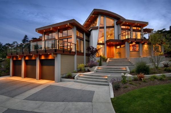 Mẫu nhà gỗ đẹp phong cách hiện đại