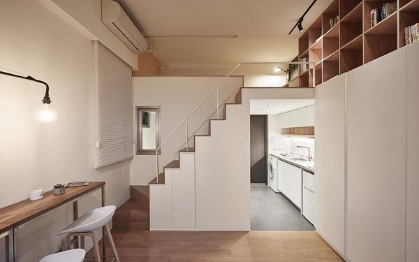 Mẫu thiết kế nhà phố 22m2 đầy đủ tiện nghi và lôi cuốn - 01