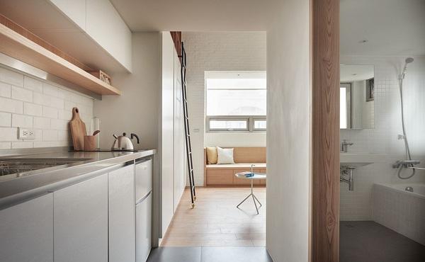 Mẫu thiết kế nhà phố 22m2 đầy đủ tiện nghi và lôi cuốn - 05