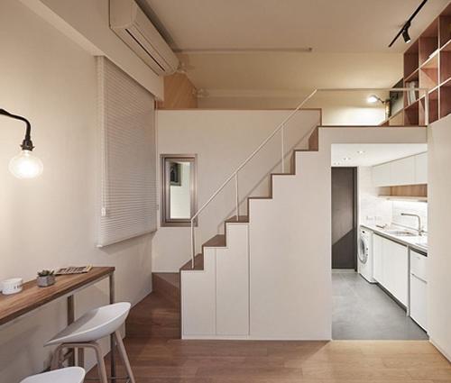 Mẫu thiết kế nhà phố 22m2 đầy đủ tiện nghi và lôi cuốn