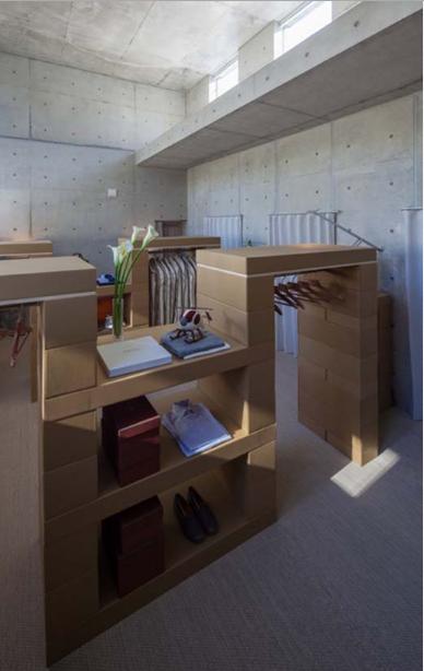 Mẫu thiết kế nhà trệt kiến trúc bê tông khác lạ và tinh tế - 06