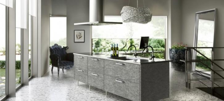 Mẫu phòng bếp đẹp phong cách hiện đại