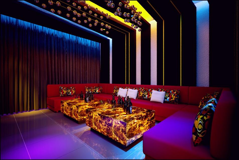 Mẫu phòng karaoke đẹp, sang trọng
