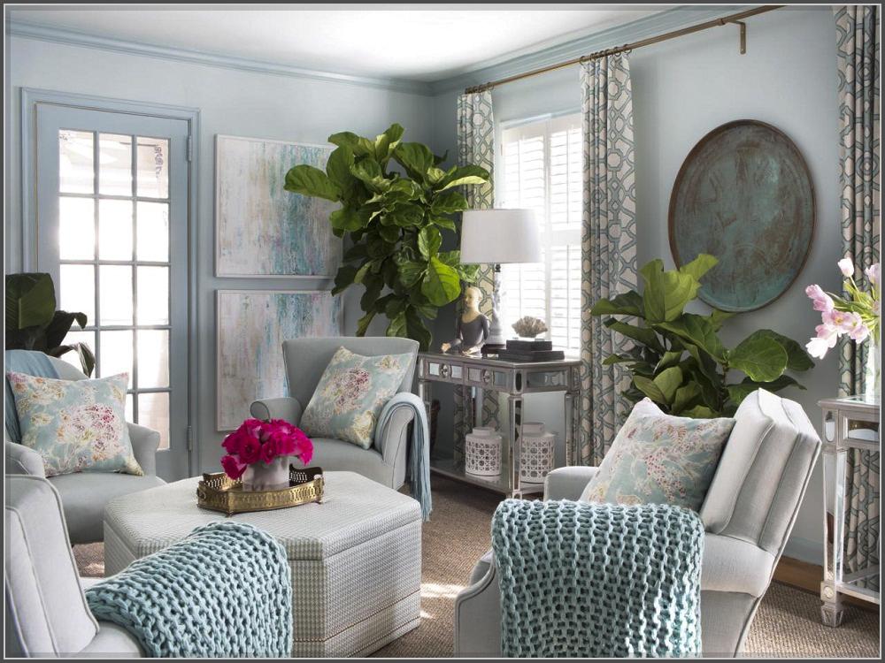 Mê mẫn với mẫu phòng khách vừa đẹp vừa xanh