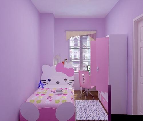 Mẫu phòng ngủ trẻ em mà người lớn cũng phải thích mê