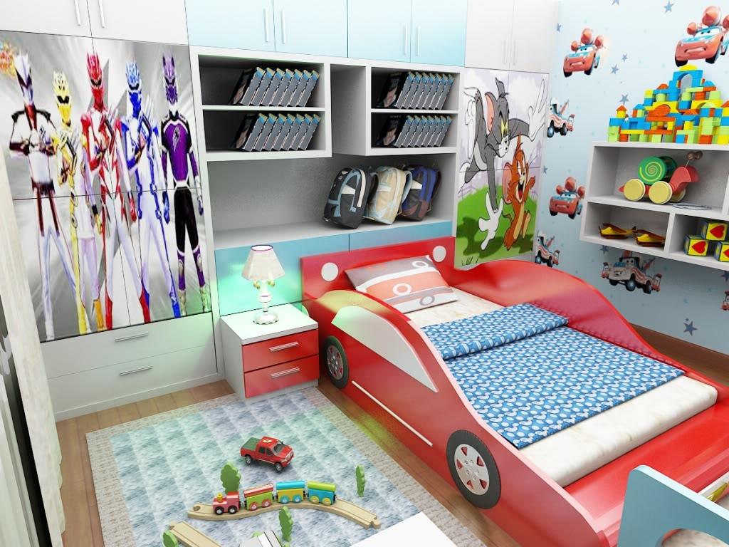 Mẫu phòng ngủ trẻ em theo từng chủ đề