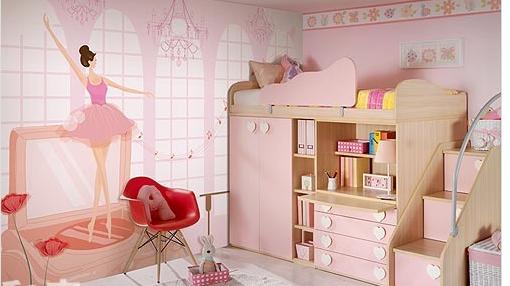 Mẫu phòng ngủ trẻ em thiết kế theo truyện cổ tích