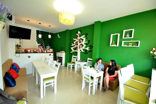 Mẫu quán cafe đẹp phong cách teen