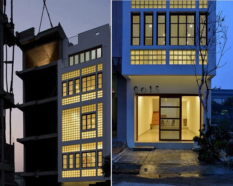 """Mẫu thiết kế nhà phố 80m2 đẹp """"mê mẩn"""" của gia đình 4 thành viên - 01"""