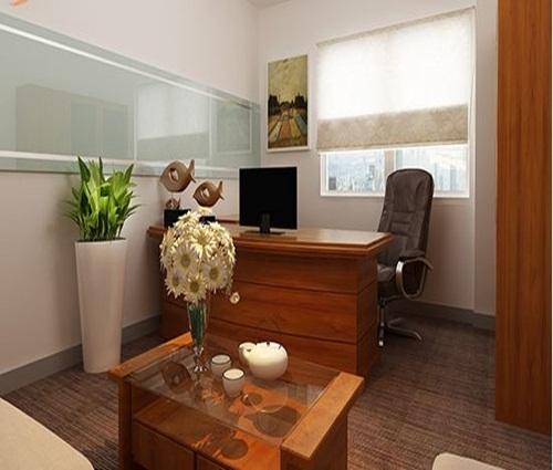 Mẫu văn phòng nội thất gỗ đẹp sang trọng và đẳng cấp