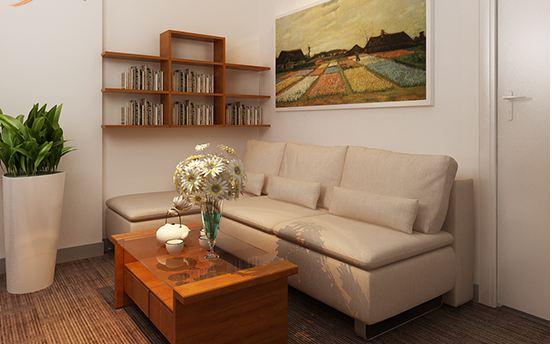Mẫu văn phòng nội thất gỗ đẹp sang trọng và đẳng cấp - 02