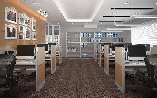 Mẫu văn phòng nội thất gỗ đẹp sang trọng và đẳng cấp - 04