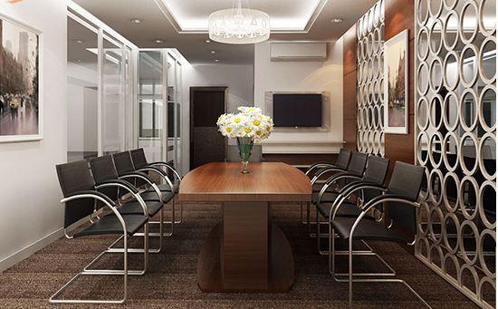 Mẫu văn phòng nội thất gỗ đẹp sang trọng và đẳng cấp - 05