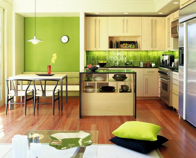 Màu xanh lá cây không hề cũ trong cuộc sống hiện đại