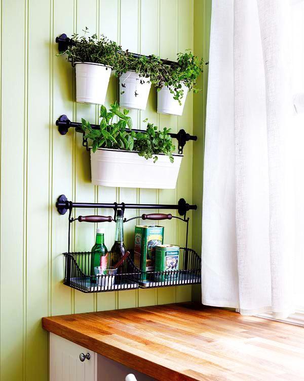 Một chút thay đổi cho không gian nhà bếp thêm xanh