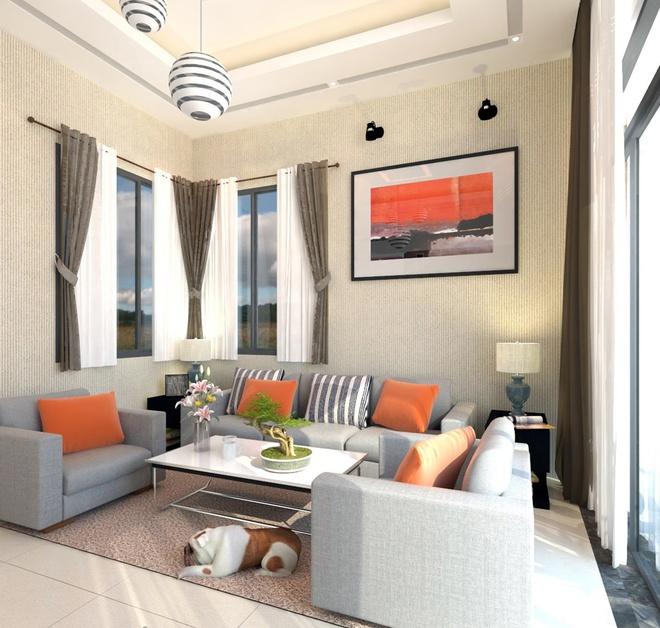 Ngắm căn nhà cấp 4 tiện nghi cho gia đình bốn người ở Nha Trang