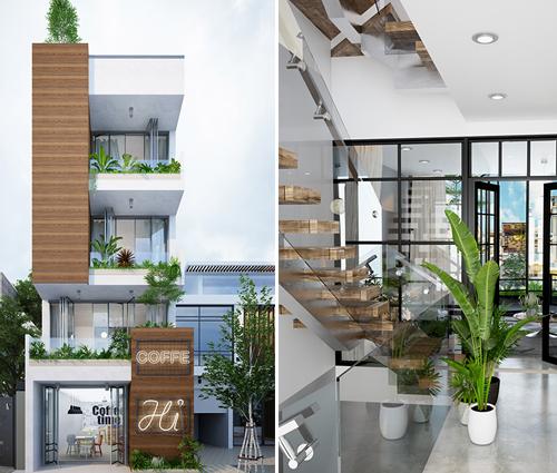 Ngắm mẫu thiết kế nhà phố đẹp hiện đại gần gũi với thiên nhiên