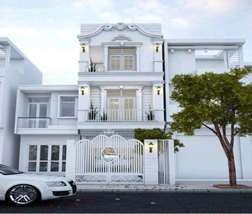 Ngắm mãi không chán ngôi nhà 3 tầng sang trọng theo phong cách cổ điển