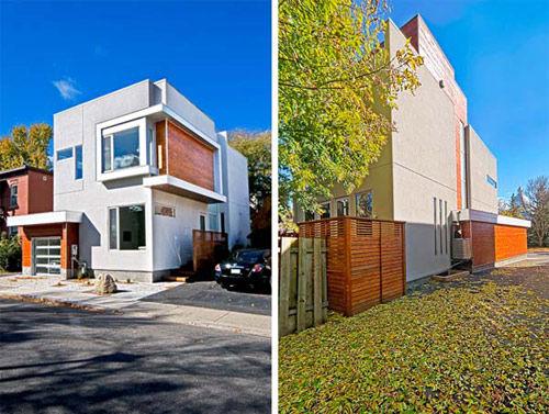 Ngắm nhà phố hiện đại hai tầng hướng Đông ngập tràn ánh nắng - 02