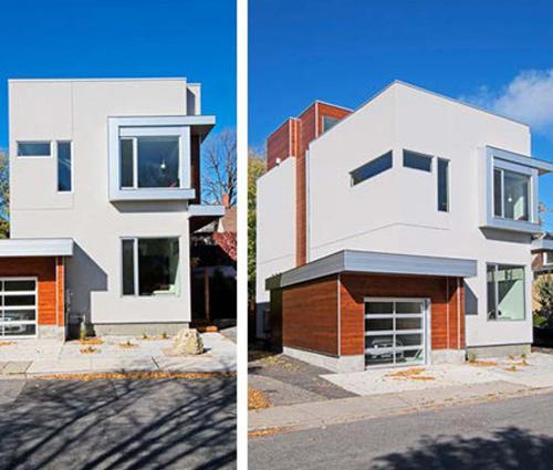 Ngắm nhà phố hiện đại hai tầng hướng Đông ngập tràn ánh nắng