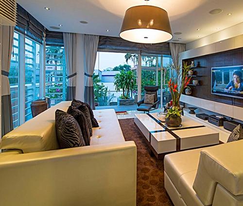 Ngắm nhìn căn biệt thự ba tầng đẹp sang trọng tại Tân Phú