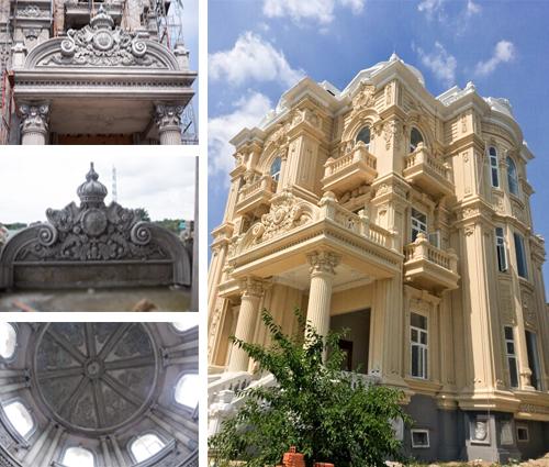 Ngắm nhìn vẻ đẹp đến xiêu lòng của biệt thự 3 tầng cổ điển ở Củ Chi