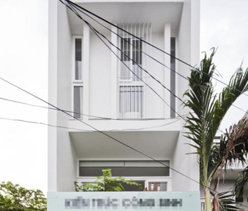 Ngất ngây với căn nhà ống trắng đẹp từng centimet.