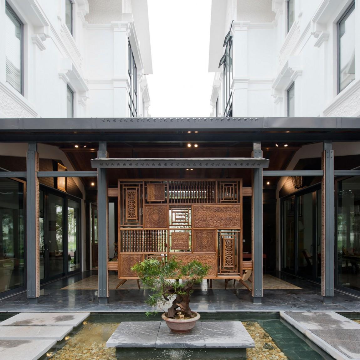 Nghỉ dưỡng ngay tại căn biệt thự đẹp như một khu resort giữa lòng Hà Nội