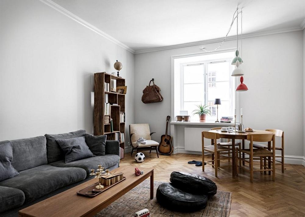 Ngơ ngác trước vẻ đẹp của căn hộ chung cư có diện tích 45m2