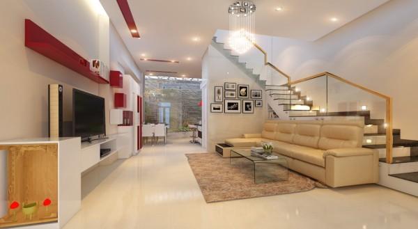 Ngôi nhà 3 tầng sống động với thiết kế vườn tường độc đáo - 02