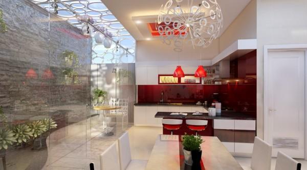 Ngôi nhà 3 tầng sống động với thiết kế vườn tường độc đáo - 03