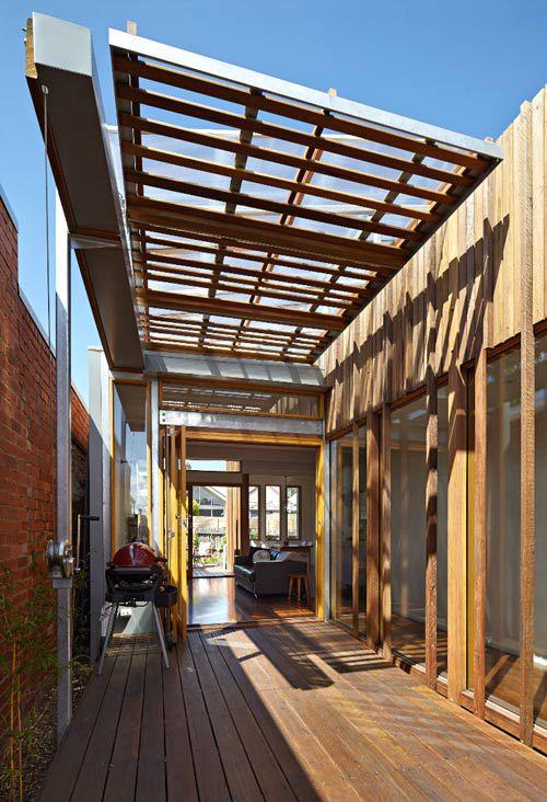 Ngôi nhà cấp 4 tràn đầy ánh sáng nhờ thiết kế thanh gỗ