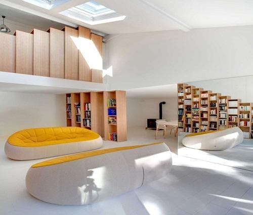 Ngôi nhà cấp 4 tuyệt đẹp cho người mê sách