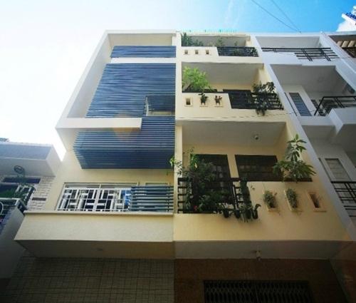 Ngôi nhà phố chiều ngang 4m được thiết kế ấn tượng