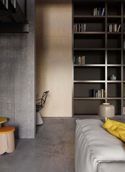 Ngôi nhà phố thiết kế công nghiệp cao 2 tầng thể hiện cá tính - 04