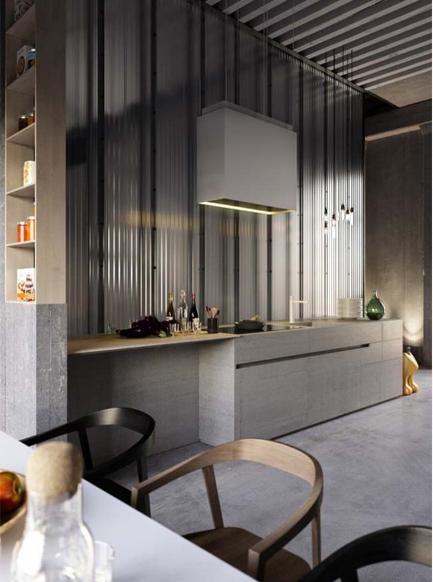 Ngôi nhà phố thiết kế công nghiệp cao 2 tầng thể hiện cá tính - 05