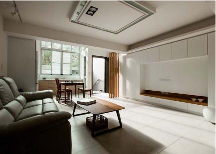 Ngôi nhà phố tông màu đơn sắc cao 5 tầng đẹp giản dị và hài hòa - 04