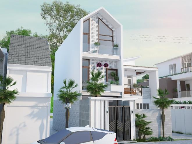 Ngôi nhà phố rộng 48m2 cho gia đình đông thành viên - 01