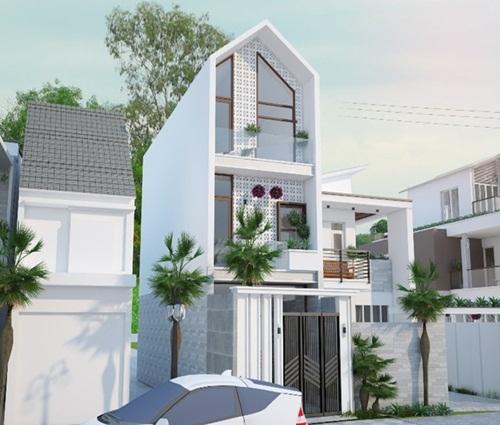 Ngôi nhà phố rộng 48m2 cho gia đình đông thành viên