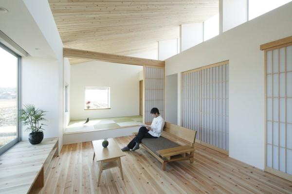 Ngôi nhà trệt phong cách Nhật Bản cho đôi vợ chồng trẻ - 03